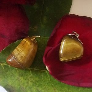 Tiger eye stones for necklace